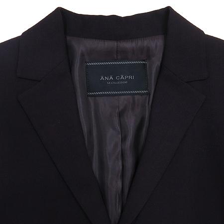 Ana Capri(아나카프리) 다크퍼플 컬러 코트