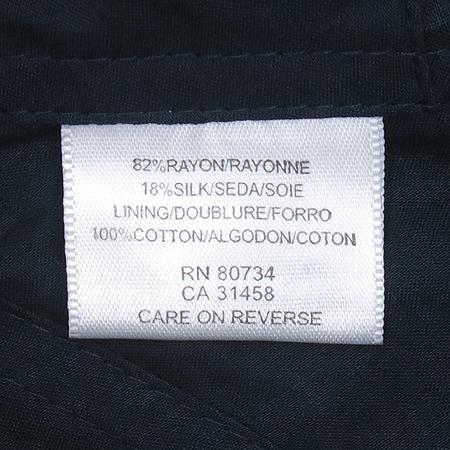 BCBG(비씨비지) 블랙 컬러 실크혼방 벨벳 자켓