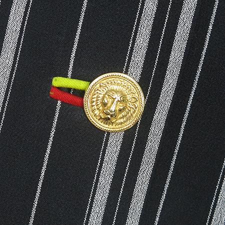 Versace(베르사체) 메두사 금장 버튼 스트라이프 자켓