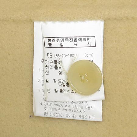ENC(이엔씨) 연베이지 컬러 후드 반코트
