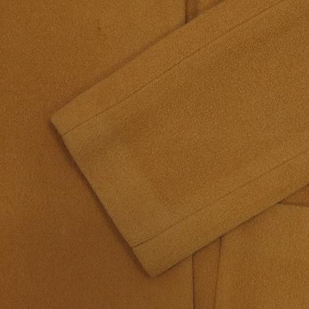 O'2nd(오즈세컨) 다크베이지 컬러 후드 반코트