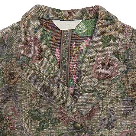 Mine(마인) 플라워 패턴 마혼방 자켓