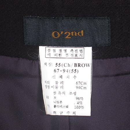 O'2nd(오즈세컨) 체리브라운 컬러 3피스 정장