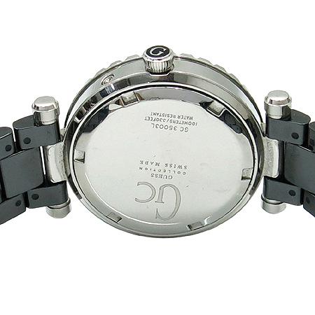 Guess(게스) GC 35003L 데이 데이트 블랙 세라믹 여성용 시계 이미지4 - 고이비토 중고명품