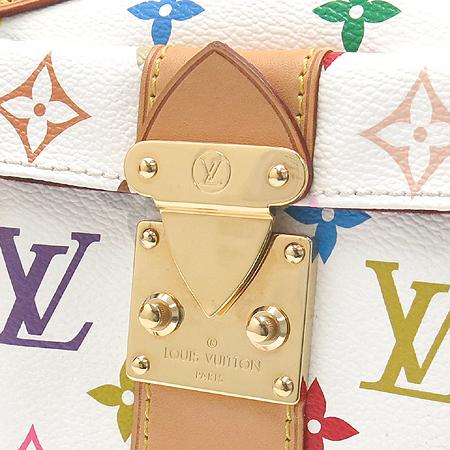 Louis Vuitton(루이비통) M92643 모노그램 멀티 화이트 스피디30 토트백 [강남본점] 이미지4 - 고이비토 중고명품