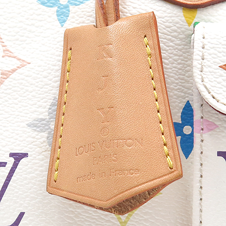 Louis Vuitton(루이비통) M92643 모노그램 멀티 화이트 스피디30 토트백 [강남본점] 이미지5 - 고이비토 중고명품
