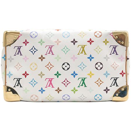Louis Vuitton(루이비통) M92643 모노그램 멀티 화이트 스피디30 토트백 [강남본점] 이미지7 - 고이비토 중고명품