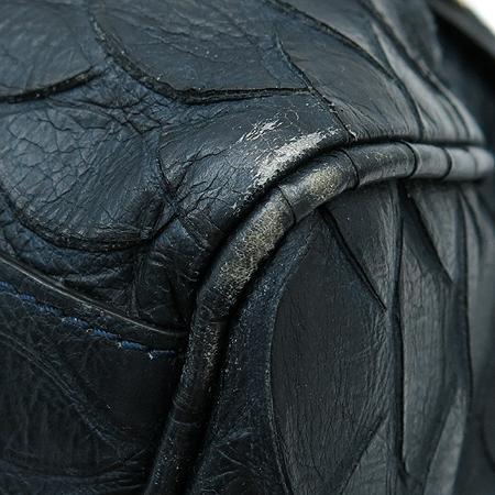 MULBERRY(멀버리) HH8490 나이트 쉐이드 블루 파이손 패턴 레더 시즌 컬렉션 알렉사 오버라지 2WAY [명동매장] 이미지6 - 고이비토 중고명품