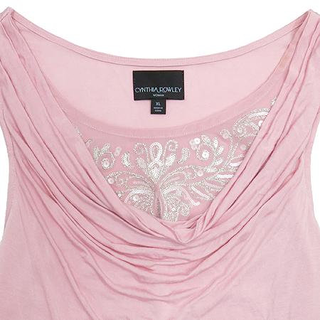 Cynthia Rowley(신시아 로리) 핑크 컬러 나시