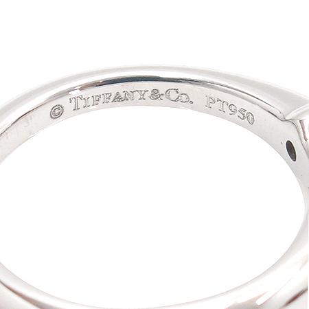 Tiffany(티파니) PT950(플래티늄) 0.16캐럿 다이아 웨딩 반지 - 6호 [강남본점] 이미지4 - 고이비토 중고명품