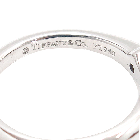 Tiffany(티파니) PT950(플래티늄) 0.16캐럿 다이아 웨딩 반지 - 6호