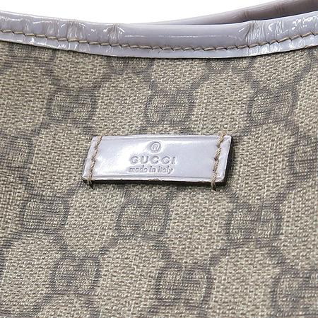 Gucci(구찌) 197953 GG 로고 PVC 에나멜 트리밍 쇼퍼 숄더백 [부산센텀본점]