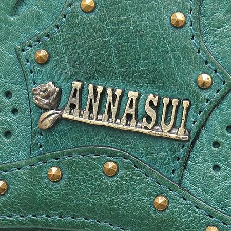 Anna Sui(안나수이) 그린 레더 3단 반지갑 이미지3 - 고이비토 중고명품