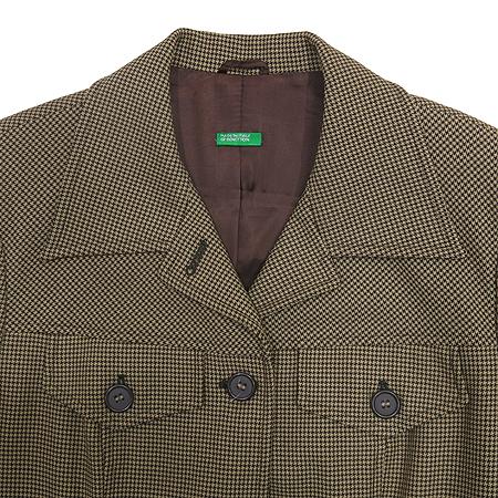 BENETTON(베네통) 브라운 컬러 자켓