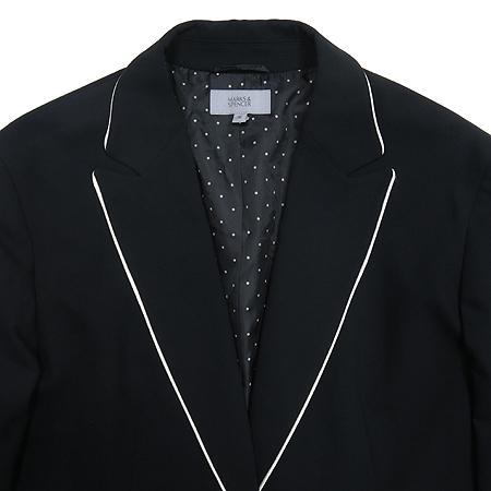 MARKS & SPENCER(막스엔스펜서) 블랙 컬러 자켓