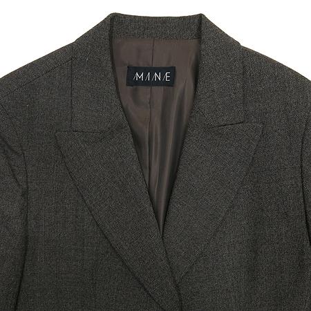 Mine(마인) 다크브라운 컬러 자켓