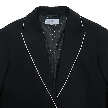 MARKS & SPENCER(막스엔스펜서) 블랙 컬러 자켓 이미지2 - 고이비토 중고명품