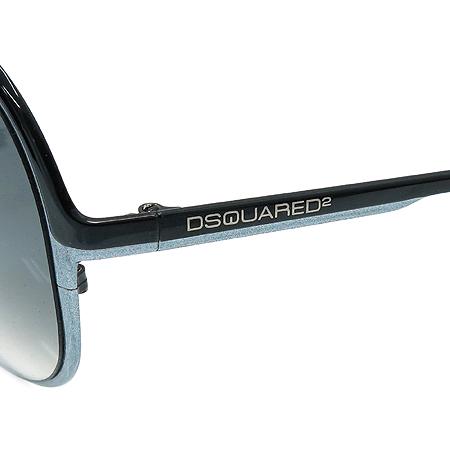 DSQUARED2 (디스퀘어드2) DQ0011 블랙 메탈 선글라스