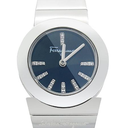Ferragamo(페라가모) F70 Gancino Soiree (간치노 솔리) 다이아 스틸 여성용 시계