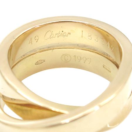 Cartier(까르띠에) 18K(750) 옐로우 골드 Paris nouvelle vague(파리누벨바그) 반지 - 9호 [명동매장]