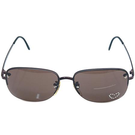 Chloe(끌로에) 19S 252 하트 큐빅 장식 무테 선글라스