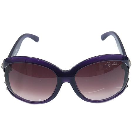CAVALLI(카발리) Balsamina 598s 스터드 장식 퍼플 뿔테 선글라스