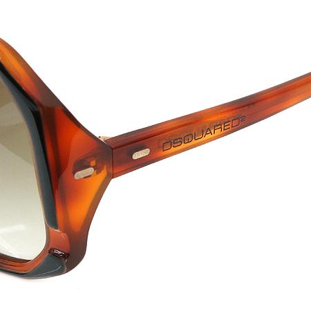 DSQUARED2 (디스퀘어드2) DQ0052 블랙 브라운 뿔테 선글라스 [대구반월당본점] 이미지5 - 고이비토 중고명품
