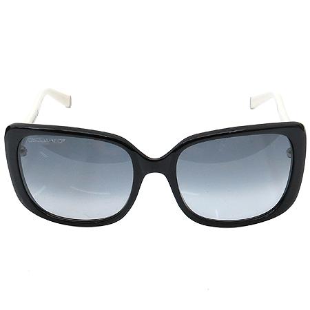 DSQUARED2 (디스퀘어드2) DQ0034 블랙 아이보리 뿔테 선글라스 [부산본점]