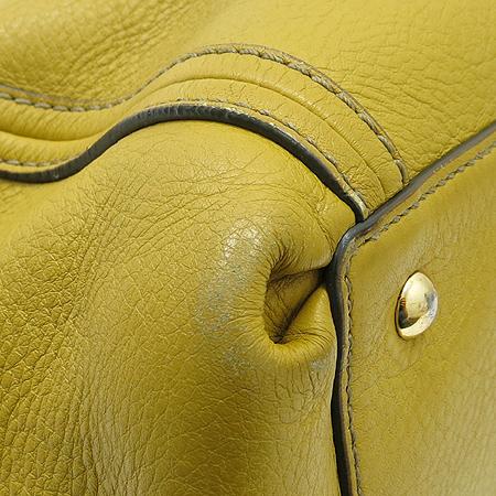 MCM(엠씨엠) MWE 1AFC41 금잘 로고 장식 크로커다일 패턴 레더 혼방 사첼 2WAY 이미지6 - 고이비토 중고명품