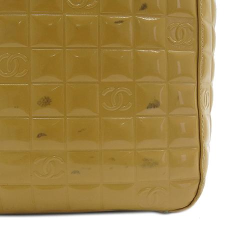 Chanel(샤넬) 옐로우 페이던트 스퀘어 토트백 이미지4 - 고이비토 중고명품