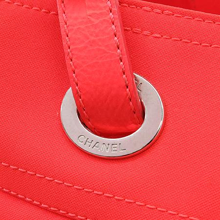 Chanel(샤넬) 비아리츠 L 사이즈 패브릭 토트백+파우치