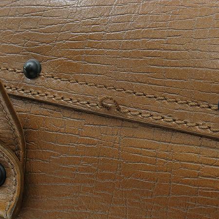 Gucci(구찌) 111713 브라운 레더 뱀부 장식 숄더백