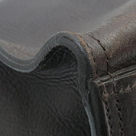MULBERRY(멀버리) HH6562 초콜렛 컬러 레더 엘진 다윈 토트백