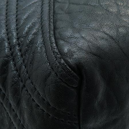 Fendi(펜디) 8B511 블랙 레더 스파이 토트백