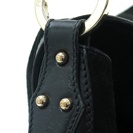 Fendi(펜디) 8BR336 블랙 스웨이드 숄더백