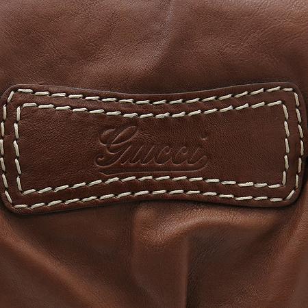Gucci(구찌) 211967 브라운 레더 금장 호스빗 장식 숄더백 [강남본점] 이미지3 - 고이비토 중고명품