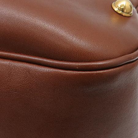 Gucci(구찌) 211967 브라운 레더 금장 호스빗 장식 숄더백 [강남본점] 이미지5 - 고이비토 중고명품