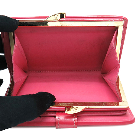 Louis Vuitton(루이비통) M91254 모노그램 베르니 프렌치퍼스 중지갑