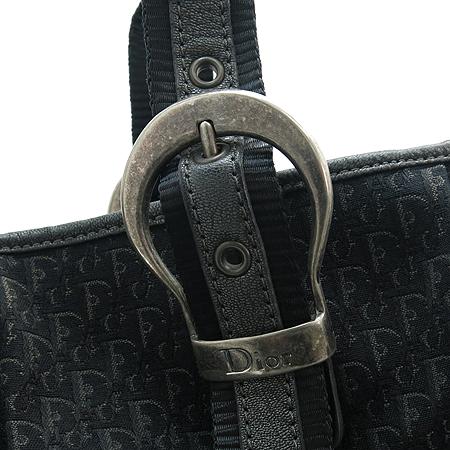 Dior(크리스챤디올) 가우쵸 빈티지 로고 장식 자가드 숄더백