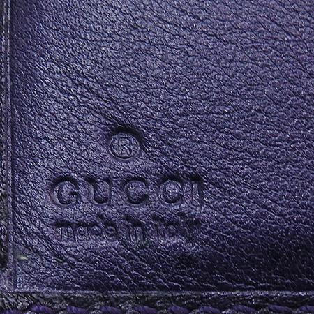 Gucci(구찌) 212091 GG 로고 시마 레더 중지갑
