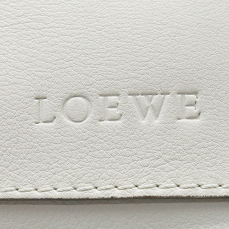 Loewe(로에베) 콜렉션 크림 레더 토트백