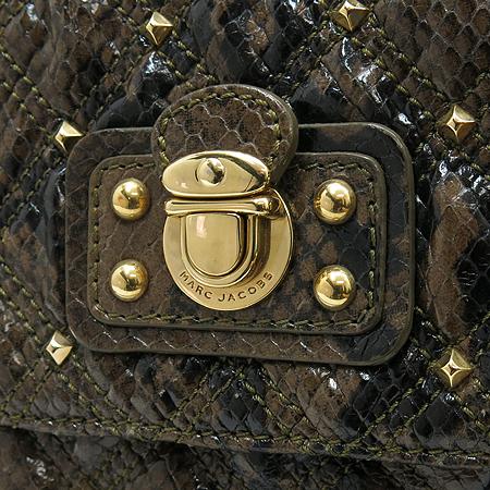 Marc_Jacobs(마크 제이콥스) 파이손 패턴 스터드 금장 체인 숄더백 [부산센텀본점] 이미지4 - 고이비토 중고명품