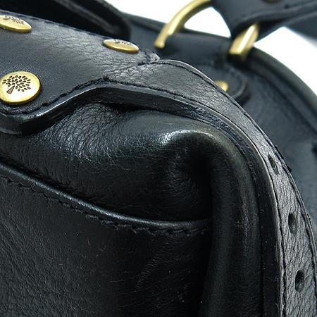 MULBERRY(멀버리)  원 포켓 블랙 레더  숄더백