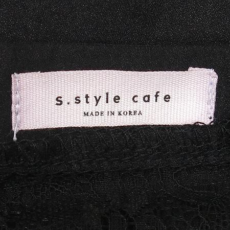 S.STYLE CAFE 블랙 컬러 원피스 이미지4 - 고이비토 중고명품