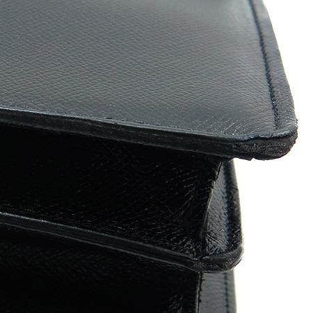 Bally(발리) NACCORD 블랙 레더 남서용 서류 가방 + 숄더 스트랩