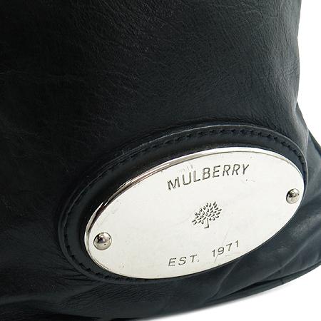 MULBERRY(멀버리) 록산느 빈티지 블랙 투포켓 토트백