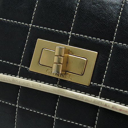 Chanel(샤넬) 2.55 라인 램스킨 퀄팅 금장 체인 숄더백