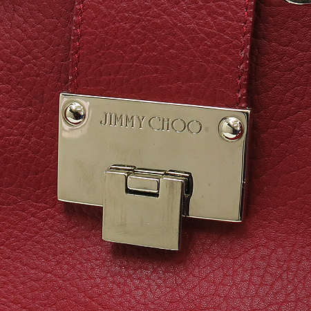 JIMMY CHOO(지미추) 금장 로고 장식 위켄더 숄더백