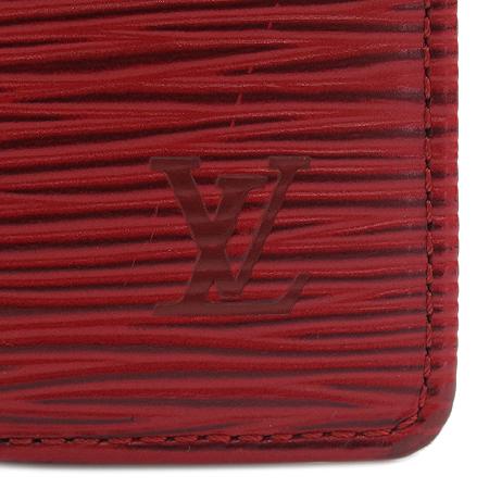 Louis Vuitton(루이비통) M63552 레드 에삐 레더 콤팩트 중지갑