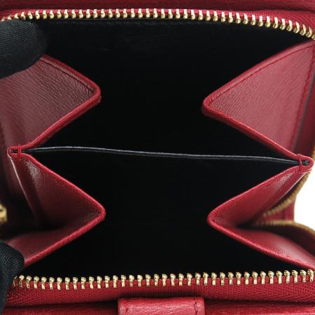 Loewe(로에베) 레드 레더 로고 플레이트 중지갑 [강남본점] 이미지4 - 고이비토 중고명품